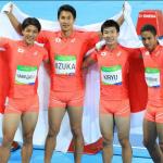 【リオ五輪】男子400mリレー日本銀メダル!!感動の瞬間!