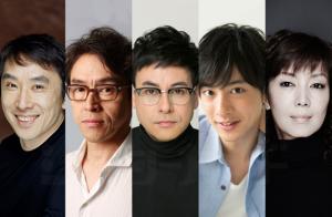 左から段田安則、浅野和之、鈴木浩介、渡部秀、戸田恵子