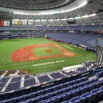 京セラドーム座席表が一目でわかる!1塁側と3塁側、上段と下段、通路と列とゲートについて