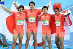 リオ 400メートルリレー 決勝