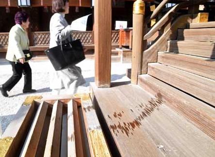 下鴨神社に液体!(画像あり)犯人は寺社連続油被害事件の同一犯か?!